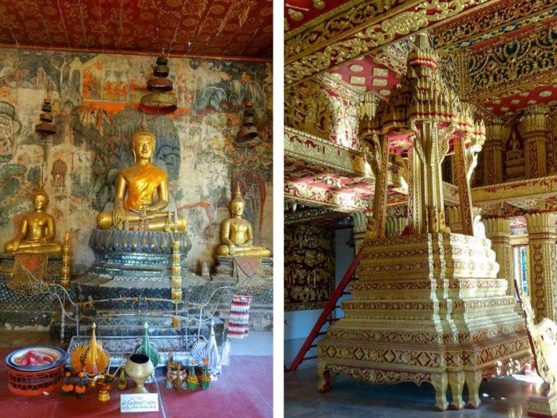 vergoldeter Königspalast Luang Prabang