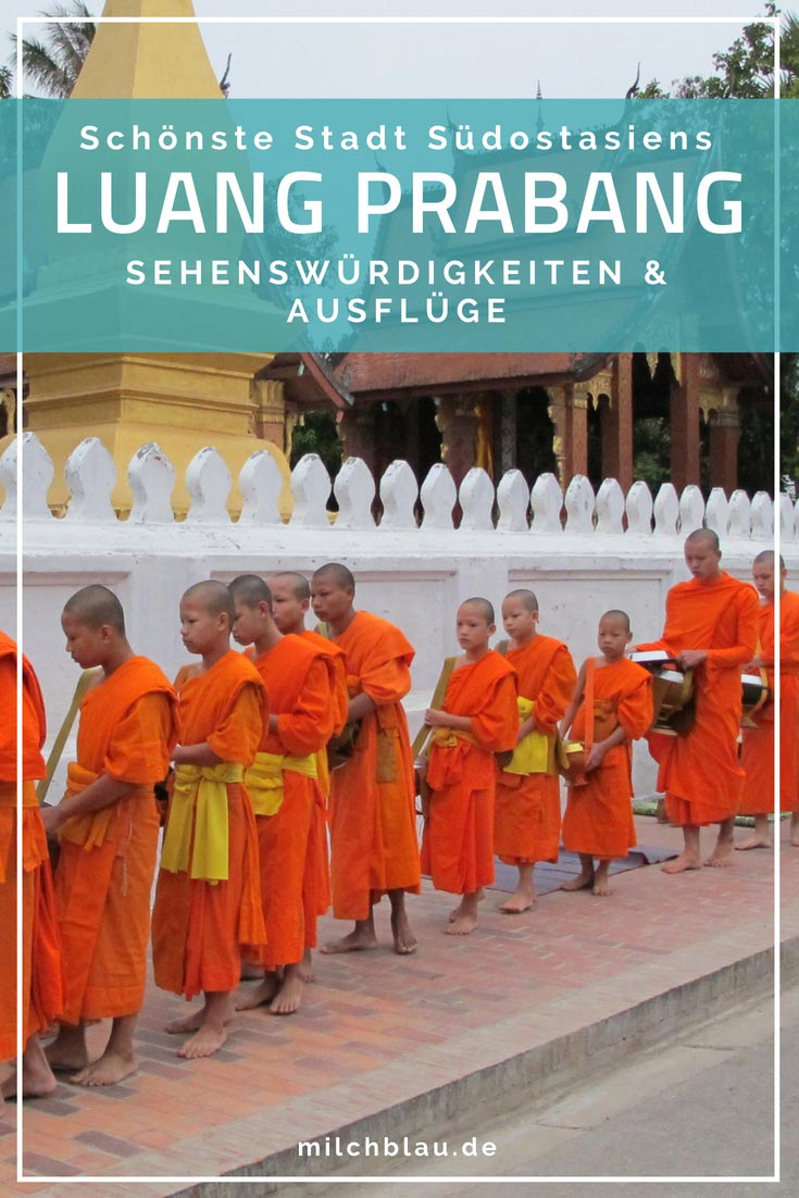 Luang Prabang versprüht eine besondere Atmosphäre. Hier findest du alle Highlights der schönsten Stadt Südostasiens sowie Tipps und Infos für deinen Besuch.