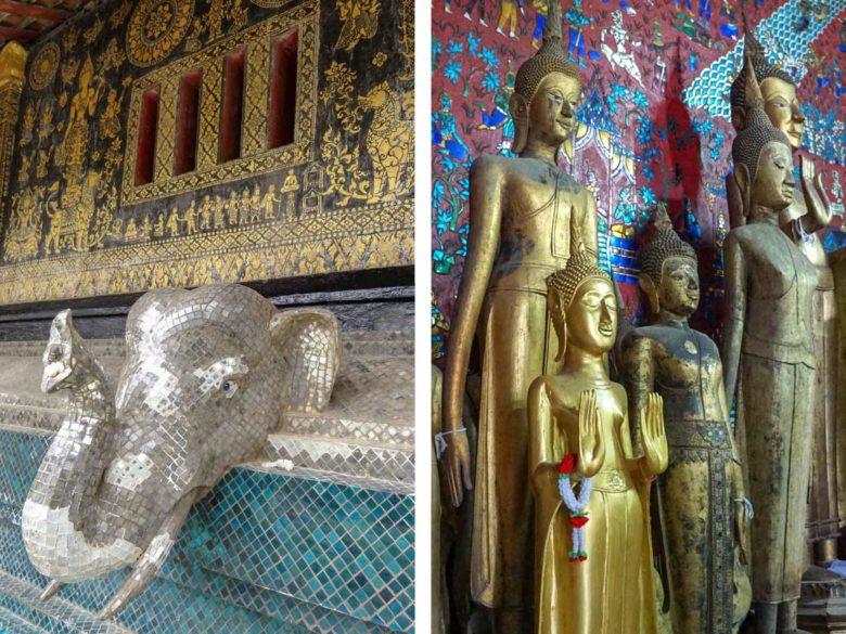 Wat Xieng Thong Buddhas