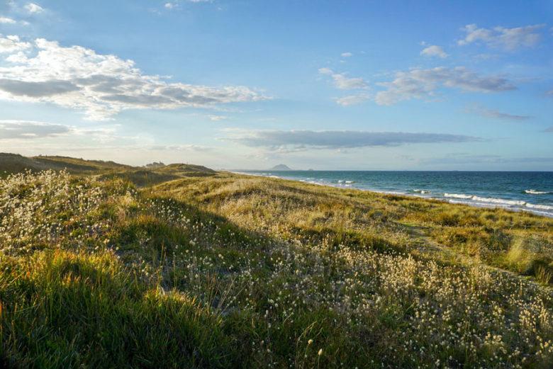 Neuseeland Papamoa Beach