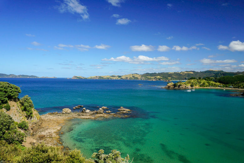 Mahinepua Bay Wanderung Neuseeland