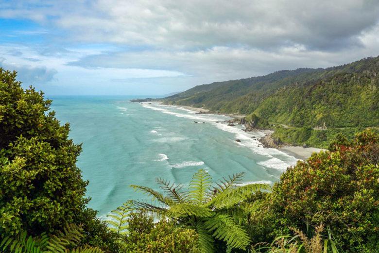 Westküste Südinsel Route Neuseeland