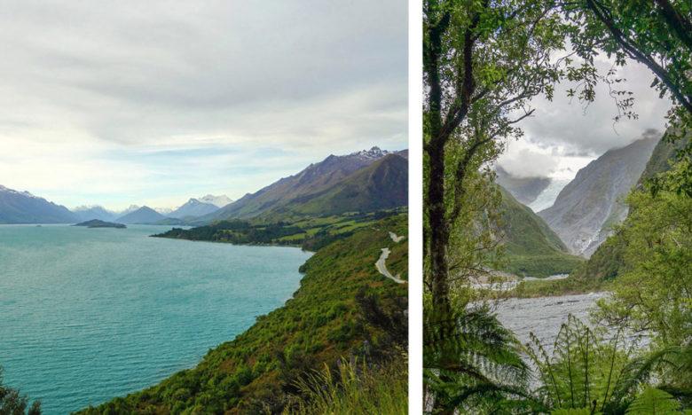 Landschaft Neuseeland Tipps