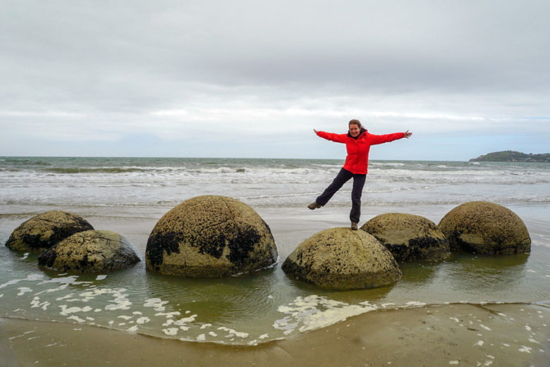 Otago Highlights Moeraki Boulders