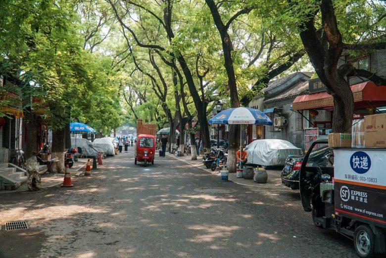 Straßen zum Konfuzius-Tempel