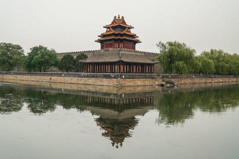 Beijing Sehenswürdigkeiten Verbotene Stadt außen