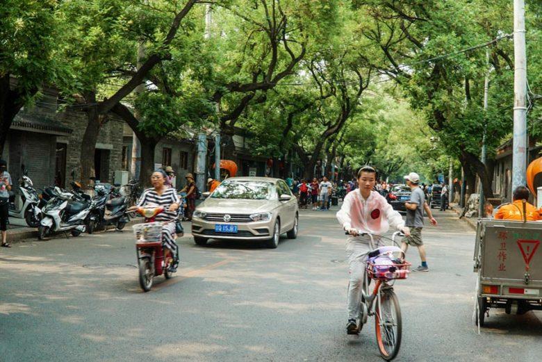 Straßen in Beijing