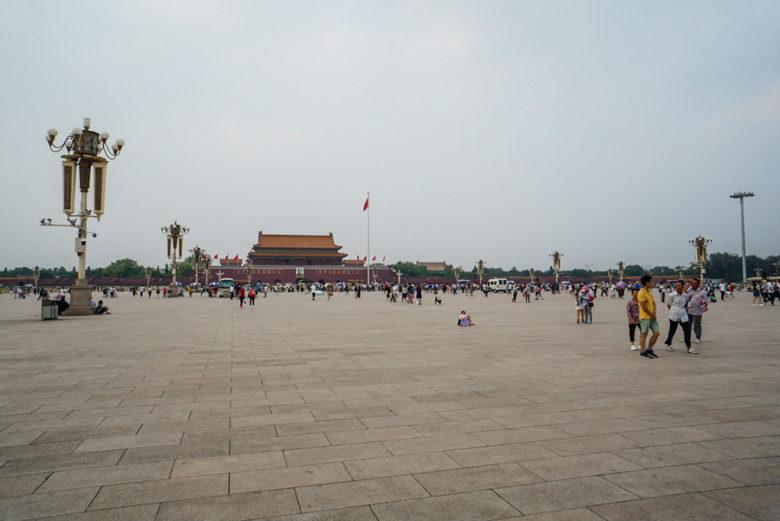Tiananmen - Platz des himmlischen Friedens