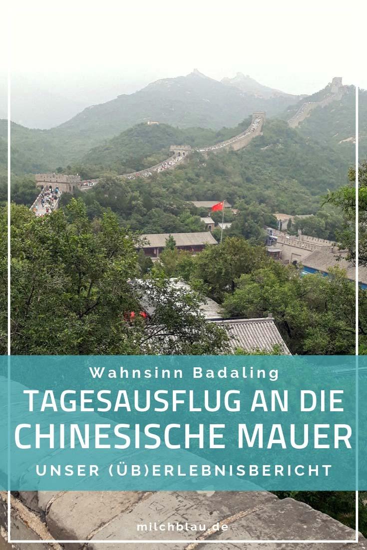 Die Große Chinesische Mauer ist ein Must-See während einer Reise nach Peking. Wer nur wenig Zeit hat, für den ist Badaling die beste Wahl.