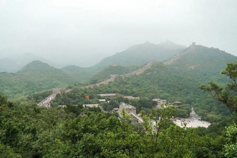 Große Mauer in Badaling bei Peking