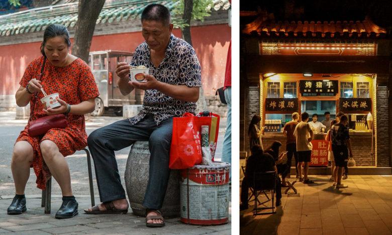 Restaurants Straßenküchen Peking