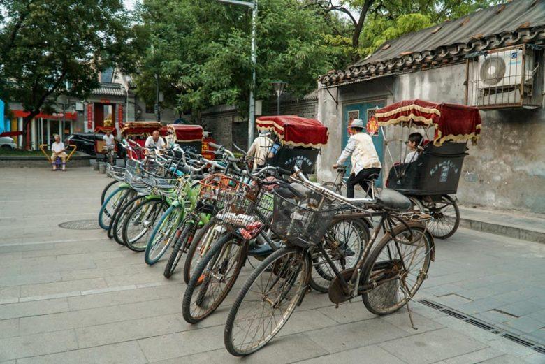 Rikscha-Fahrer in Peking
