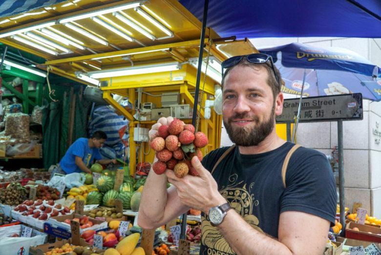 Markt in Hongkong