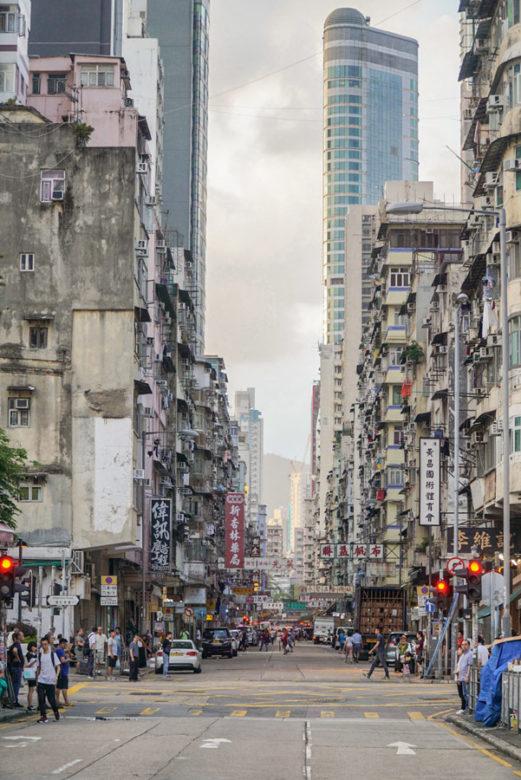 Straßen von Hongkong