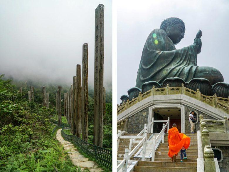 Lantau Island - Wisdom Path und Big Buddha