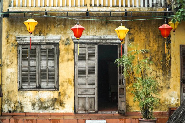 Altes Haus in Hoi An - Vietnam