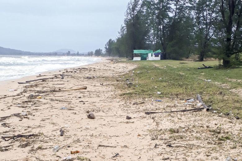 Müll am Strand von Phu Quoc