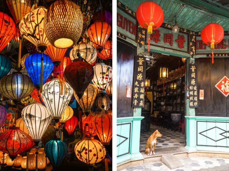 Laternen Hoi An Vietnam Reise