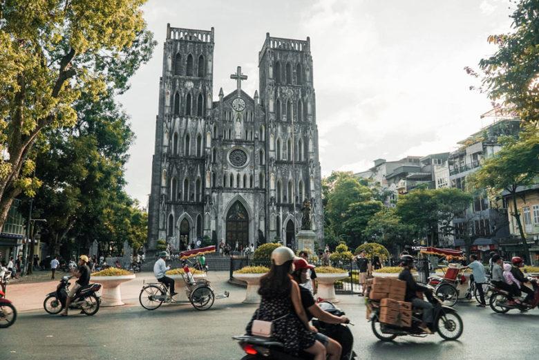 Hanoi Kathedrale Vietnam
