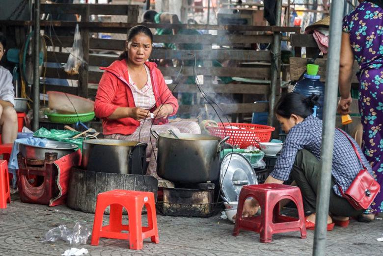 Vietnam Rundreise - Markt Hue