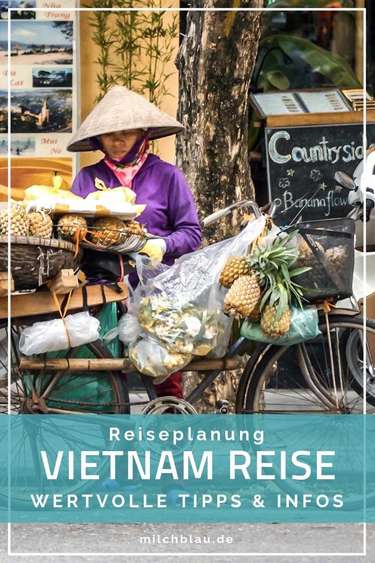 Alle wichtigen Informationen für deine Vietnam Reiseplanung. Hilfreiche Infos zu Einreise, Visum, Transport, Essen und Unterkünften.