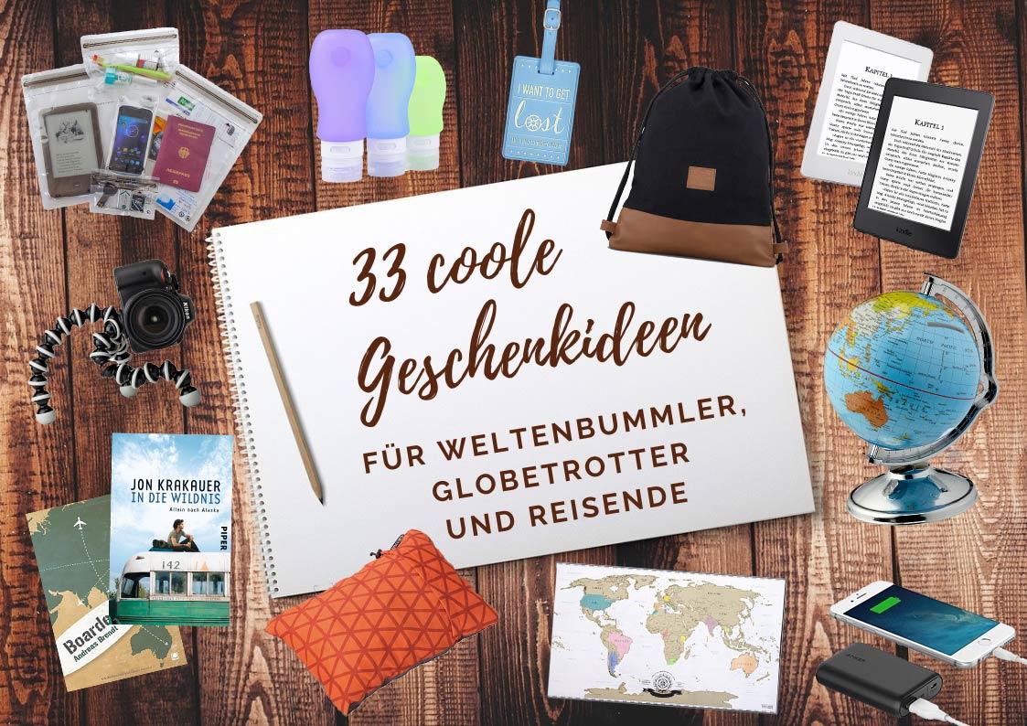 Geschenke Fur Reisende 33 Tolle Ideen Fur Traveljunkies Milchblau