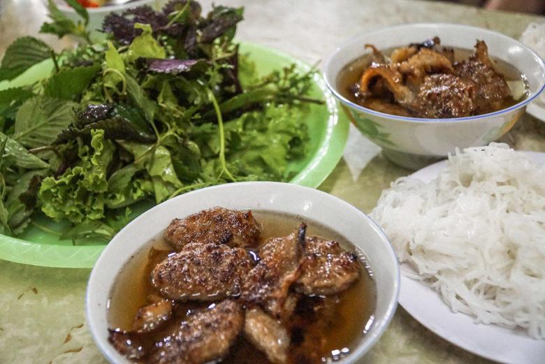 Bun Cha aus Hanoi