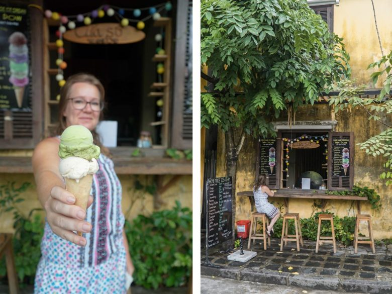 Icecream in Hoi An