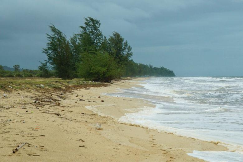 Dreckiger Strand auf Phu Quoc