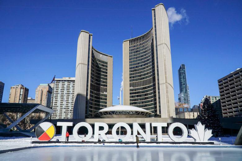 Toronto Sehenswürdigkeiten Sign