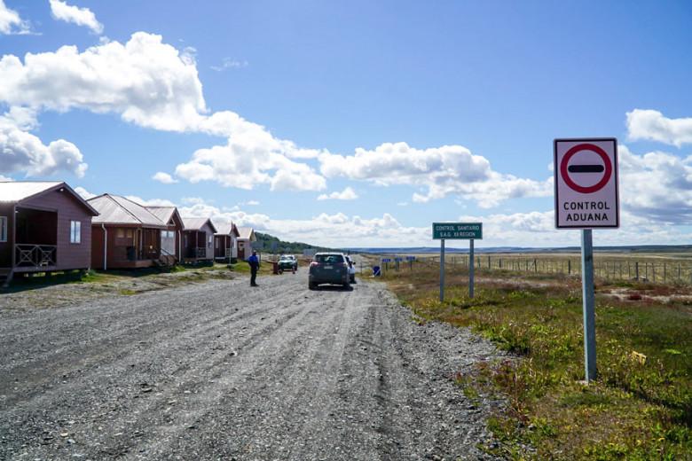 Mietwagen Patagonien: Grenübergang Chile Argentinien
