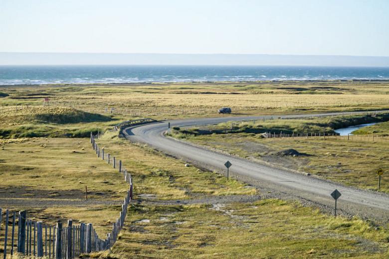 Mietwagen Patagonien - unbefestigte Straßen