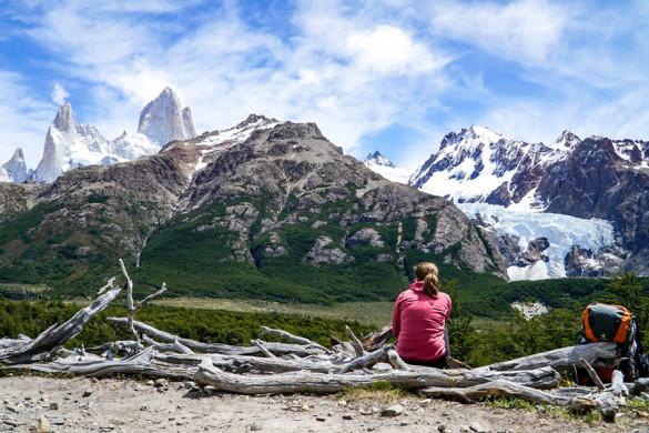 Wanderwetter: Sonne am Fitz Roy