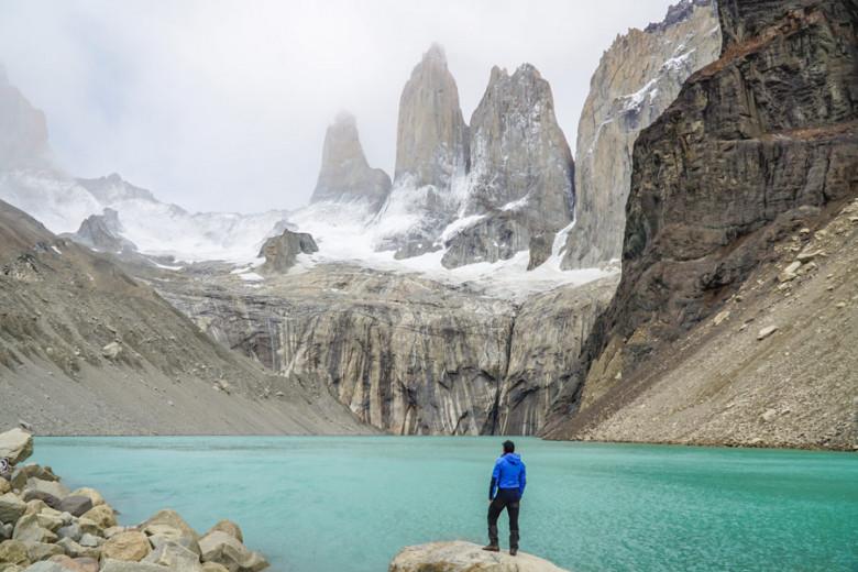 Base las Torres - Wandern im Torres del Paine NP Patagonien