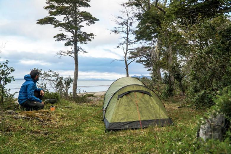 Wanderungen Patagonien - Camping
