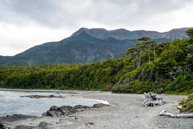 Wanderung zum Faro San Isidro bei Punta Arenas, Patagonien