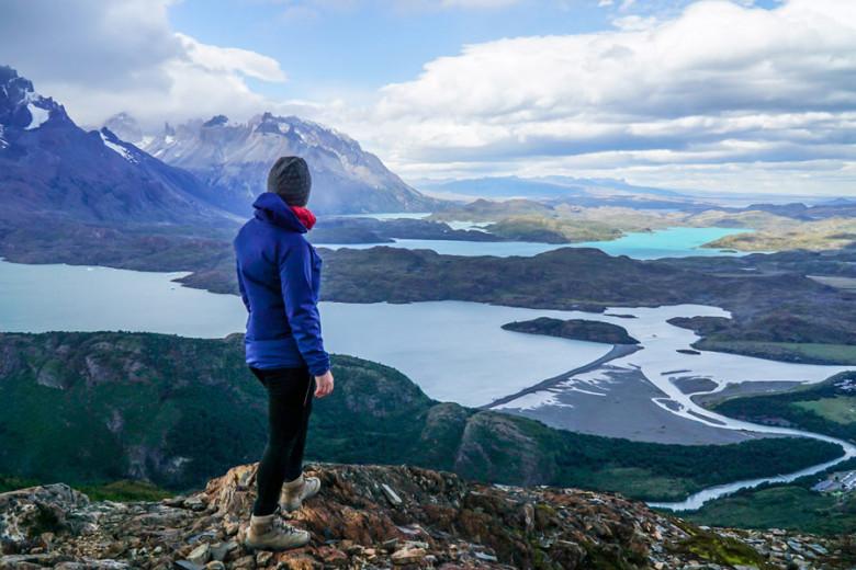 Wanderung Patagonien - Mirador Ferrier im Torres del Paine Nationalpark