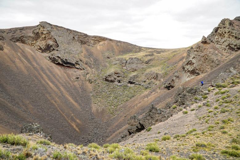 Wandern im Pali Aike Nationalpark Patagonien