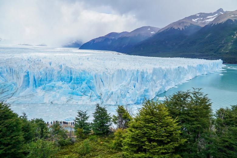Wanderungen Perito Moreno Gletscher