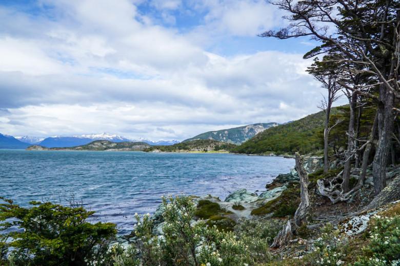 Wandern auf dem Costera Trail - Tierra del Fuego Nationalpark