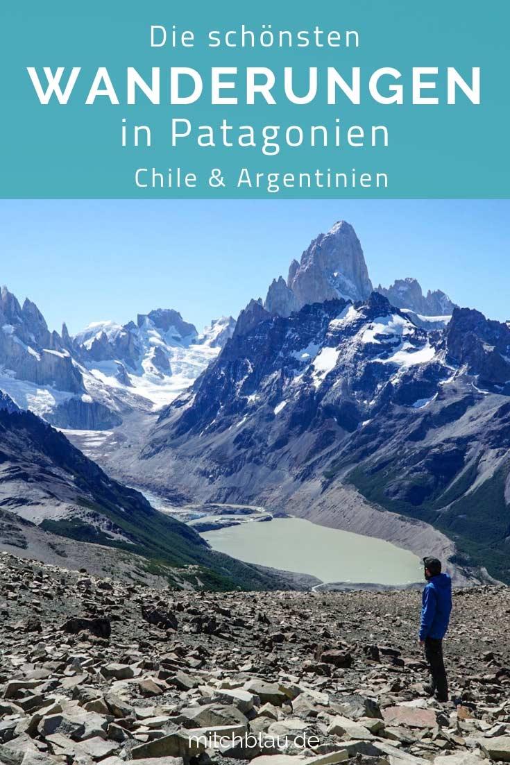 Die schönsten Tageswanderungen in Patagonien