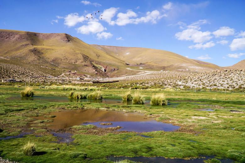 Andendorf Machuca in der Atacama Wüste