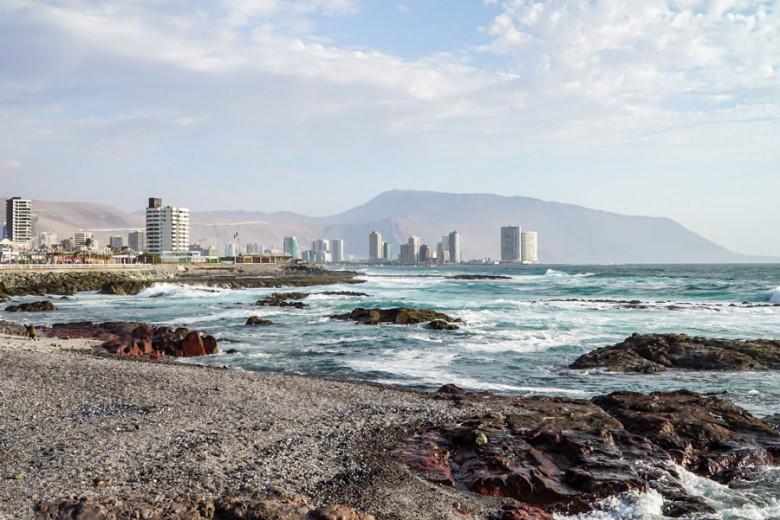 Iquique Chile Pazifikküste