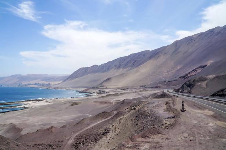 Pazifik Küstenstraße bei Iquique