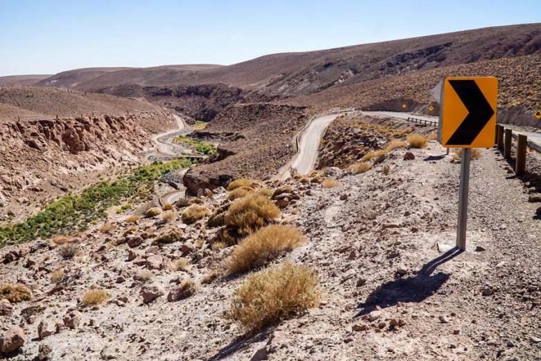 Canon de Guatin - Atacama Wüste