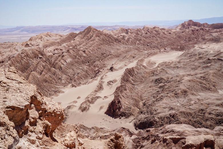 Mirador de Cari auf Valle de la Luna