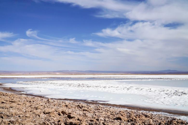 Salzlagune Salar de Atacama
