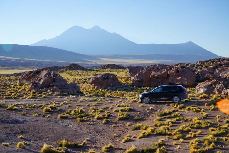 Übernachten in der Atacama Wüste