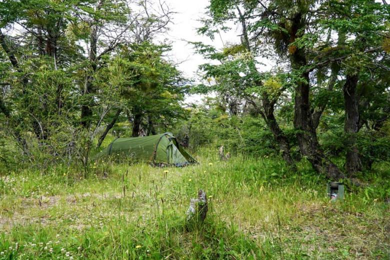 Camping Patagonien Municipal Lago Roca