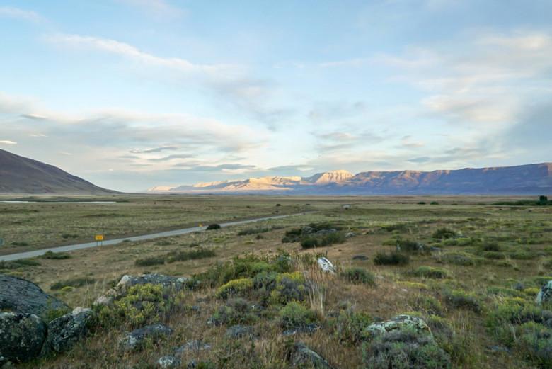 Camping Patagonien Perito Moreno